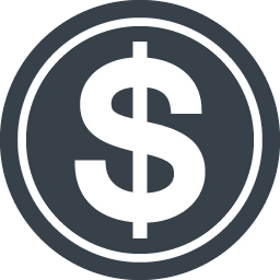 Dollar Symbol Inside Circle Free Icon 4 Free Icon Rainbow Over 4500 Royalty Free Icons