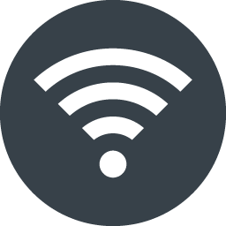 Wifi Signal Symbol In A Circle Free Icon 1 Free Icon Rainbow Over 4500 Royalty Free Icons