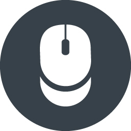 Computer Mouse Inside Circle Free Icon 6 Free Icon Rainbow Over 4500 Royalty Free Icons
