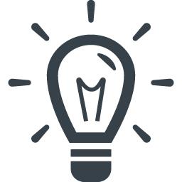 Idea Symbol Of A Lightbulb 2 Free Icon Rainbow Over 4500 Royalty Free Icons