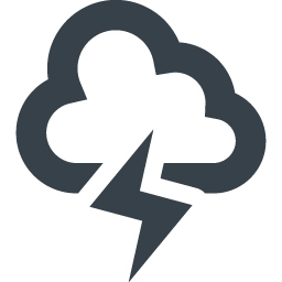 Thunder Storm Cloud Free Icon 2 Free Icon Rainbow Over 4500 Royalty Free Icons