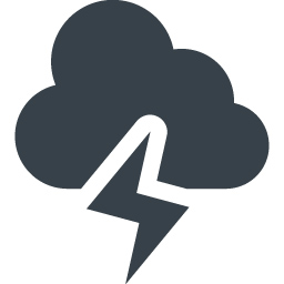 Thunder Storm Cloud Free Icon 3 Free Icon Rainbow Over 4500 Royalty Free Icons