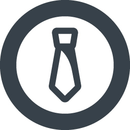 Tie Of A Businessman Inside Circle Free Icon 1 Free Icon Rainbow Over 4500 Royalty Free Icons