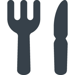 Restaurant Fork And Knife Free Icon 1 Free Icon Rainbow Over 4500 Royalty Free Icons