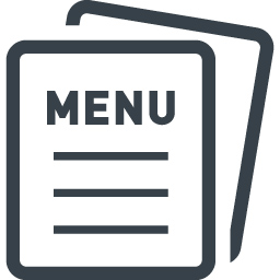 Restaurant Menu Free Icon 3 Free Icon Rainbow Over 4500 Royalty Free Icons