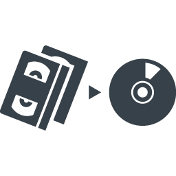 Converting Vhs Tapes To Dvd Free Icon Free Icon Rainbow Over 4500 Royalty Free Icons
