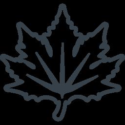 Autumn Maple Leaf Icon 2 Free Icon Rainbow Over 4500 Royalty Free Icons