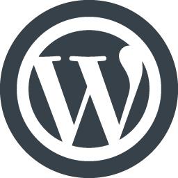 Wordpress Logo Icon 1 Free Icon Rainbow Over 4500 Royalty Free Icons