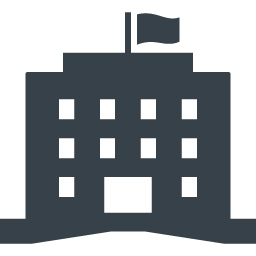 Office And Administration Building Free Icon Free Icon Rainbow Over 4500 Royalty Free Icons