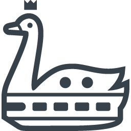 Swan Of Cruise Ships Icon Free Icon Rainbow Over 4500 Royalty Free Icons