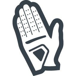 Golf Glove Icon 1 Free Icon Rainbow Over 4500 Royalty Free Icons