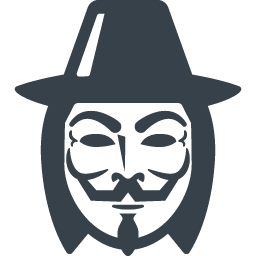 Anonymous Mask Icon 3 Free Icon Rainbow Over 4500 Royalty Free Icons
