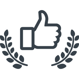 Facebook Like Award Free Icon 2 Free Icon Rainbow Over 4500 Royalty Free Icons