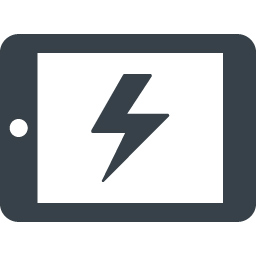 Charging Tablet Free Icon Free Icon Rainbow Over 4500 Royalty Free Icons