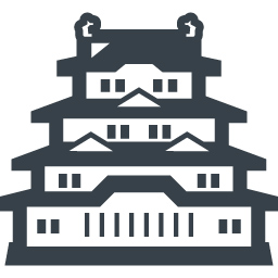 Japanese Castle Free Icon 3 Free Icon Rainbow Over 4500 Royalty Free Icons