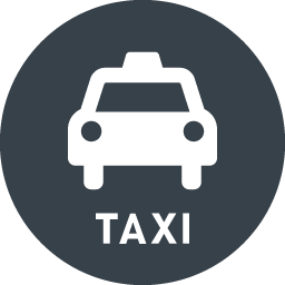 Taxi Front View Free Icon 2 Free Icon Rainbow Over 4500 Royalty Free Icons