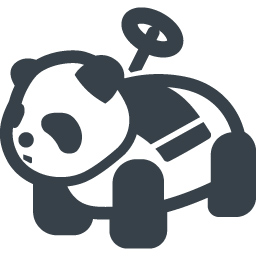 Amusement Park Panda Ride Icon 2 Free Icon Rainbow Over 4500 Royalty Free Icons